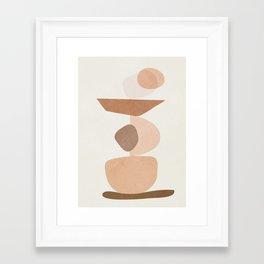 Balancing Elements II Framed Art Print
