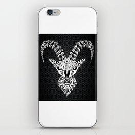 black goat ecopop iPhone Skin