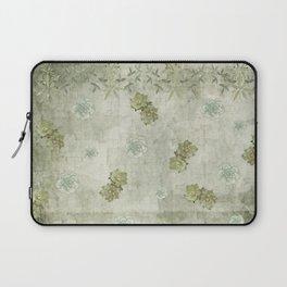 Sage Green Wallflowers Laptop Sleeve