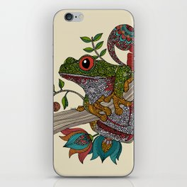 Phileus Frog iPhone Skin