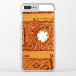 I love you Mixtape Clear iPhone Case