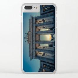 Brandenburger Tor Clear iPhone Case