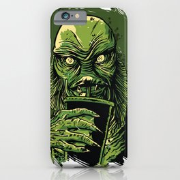 Creature from the Black Lagoon Zombie iPhone Case