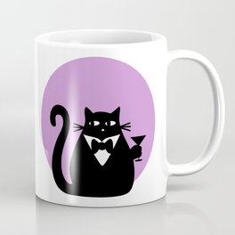 """Cats love Champagne"" by Qora & Shaï Coffee Mug"