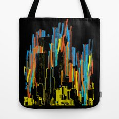 strippy city Tote Bag