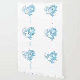 Melting Ice Heart Wallpaper