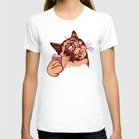 makeup T-shirts featuring No Makeup by beart24