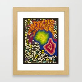 Powerman Framed Art Print