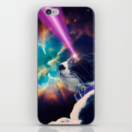 Neko San in Space iPhone Skin