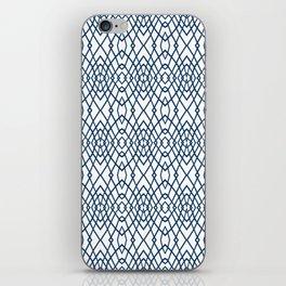 Web Navy iPhone Skin