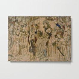 Ester Presented to Ahasuerus Metal Print