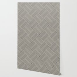 Criss Cross Stripes Wallpaper