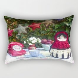 Babushka Darling Rectangular Pillow