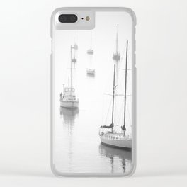 Boats 1 Clear iPhone Case