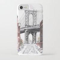 dumbo iPhone & iPod Cases featuring DUMBO by Margarita Zhdanova