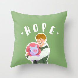 Jhope and Mang Throw Pillow