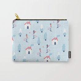 Love in the snow Carry-All Pouch
