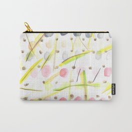 170404 Steady Pacing 5  |Modern Watercolor Art | Abstract Watercolors Carry-All Pouch