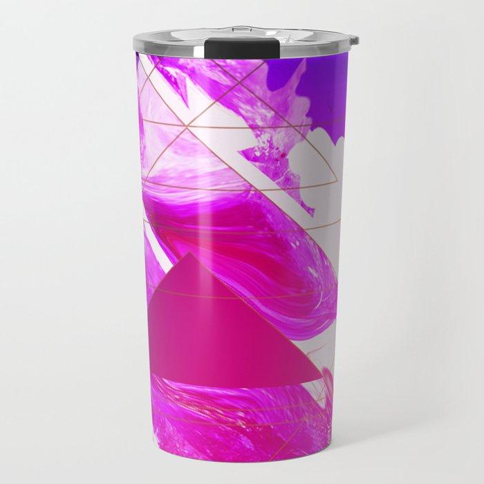 Abstract Conceptual 50th Tribute Travel Mug