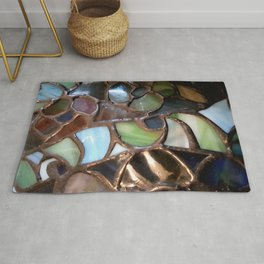 Stained Glass Enamel Rug