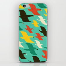Birds are flying iPhone & iPod Skin