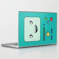 bmo Laptop & iPad Skins featuring BMO by Kezarah