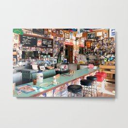 Inside the Bagdad Cafe Metal Print