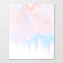 Pale Bliss Canvas Print