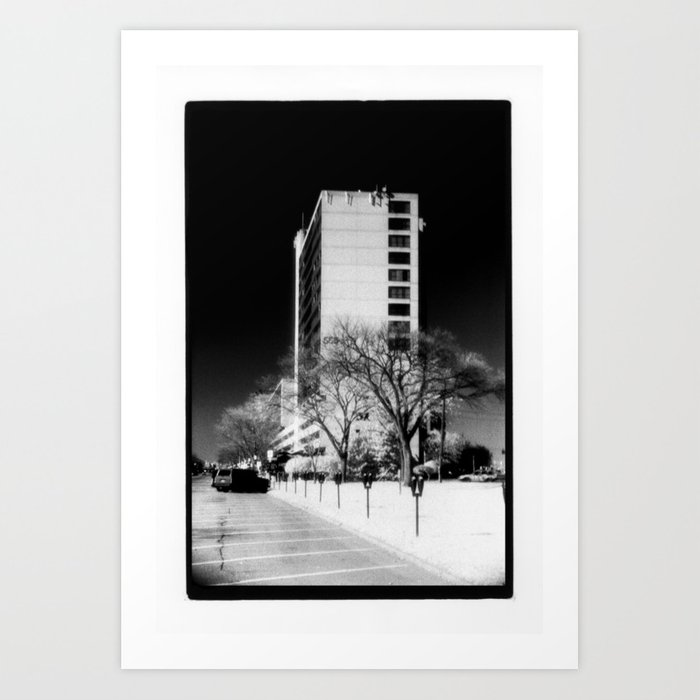 Building In The Sky Art Print