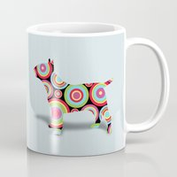 dogs Mugs featuring dogs  by mark ashkenazi
