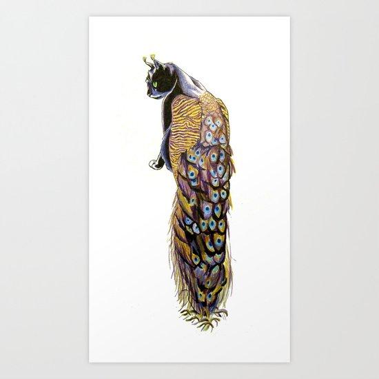 Goddess of Many Eyes 3 Art Print