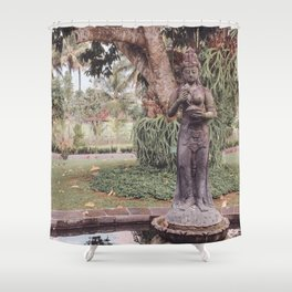 Indonesian Garden Shower Curtain