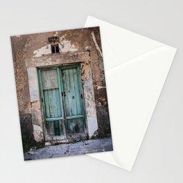 Green Door II Stationery Cards