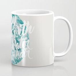 Salt Water #society6 #decor #buyart Coffee Mug