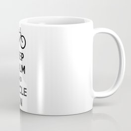 Keep Calm and Cycle On Coffee Mug