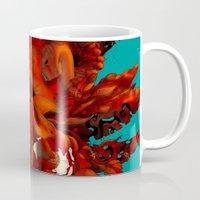 karma Mugs featuring Karma by angrymonk
