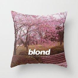 FrankOcean Blond Throw Pillow