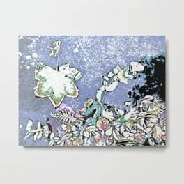 Autumn Maple Follies Chrome Metal Print