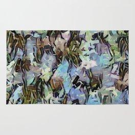 Abstract Confetti Landscape Rug