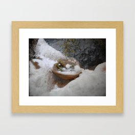 winter came (to the land of oblivion) Framed Art Print