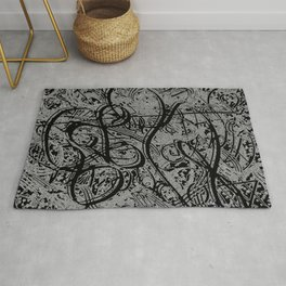 Doodle Abstraction  Rug