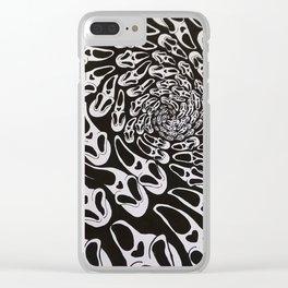 Scream Clear iPhone Case