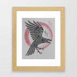 RAGNAR'S RAVEN Framed Art Print