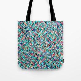 Diamond Prism Pattern Tote Bag
