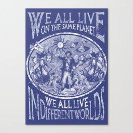 Anthropology Canvas Print