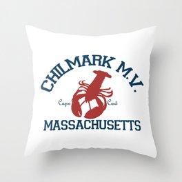 ChilMark, Martha's Vineyard. Cape Cod Throw Pillow