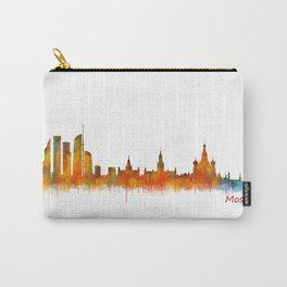 Moscow City Skyline art HQ v2 Carry-All Pouch