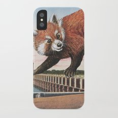 And with that, she sets off on the journey home Slim Case iPhone X