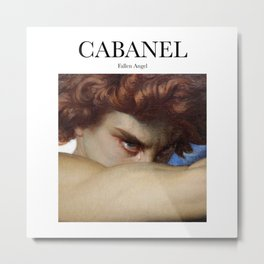Cabanel - Fallen Angel Metal Print