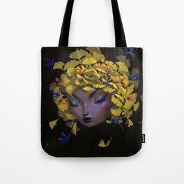 When Ginkgos Grow Tote Bag